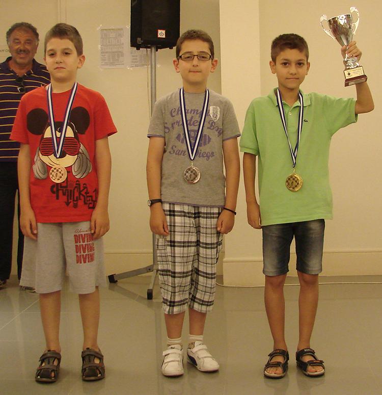 Διπλή επιτυχία για τον αθλητή Αμπελακιώτη Σταύρο .